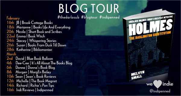 Holmes: The Darlington Substitution Blog Tour